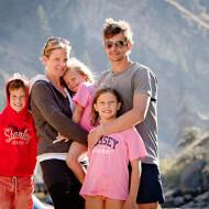 Treasured family moments river rafting