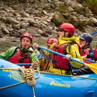 Great times rafting on the middle fork