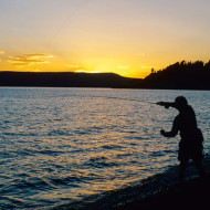 Fly Fishing Yellowstone Lake