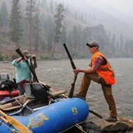 Cast and blast on the middle fork of the salmon river
