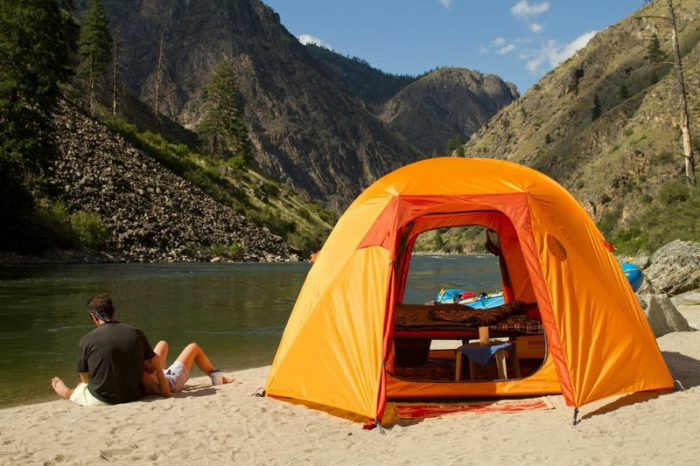 These 8 Luxury 'Glampgrounds' In Idaho Will Give You An Unforgettable Experience